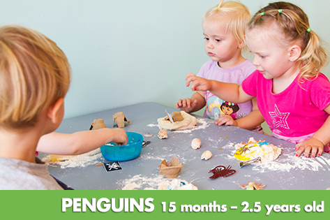Penguins - Kids on 4th Child Care & Kindergarten