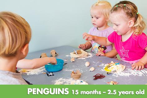 Penguins - Kids on 4th Child Care & Kindergarten
