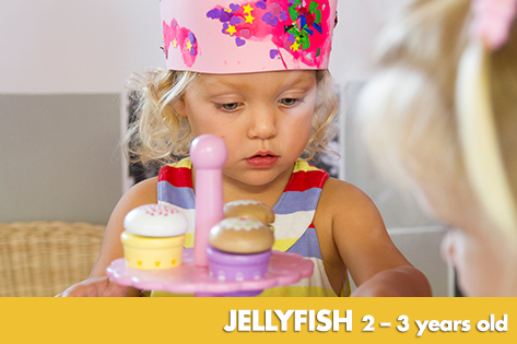Jellyfish - Kids on 4th Child Care & Kindergarten