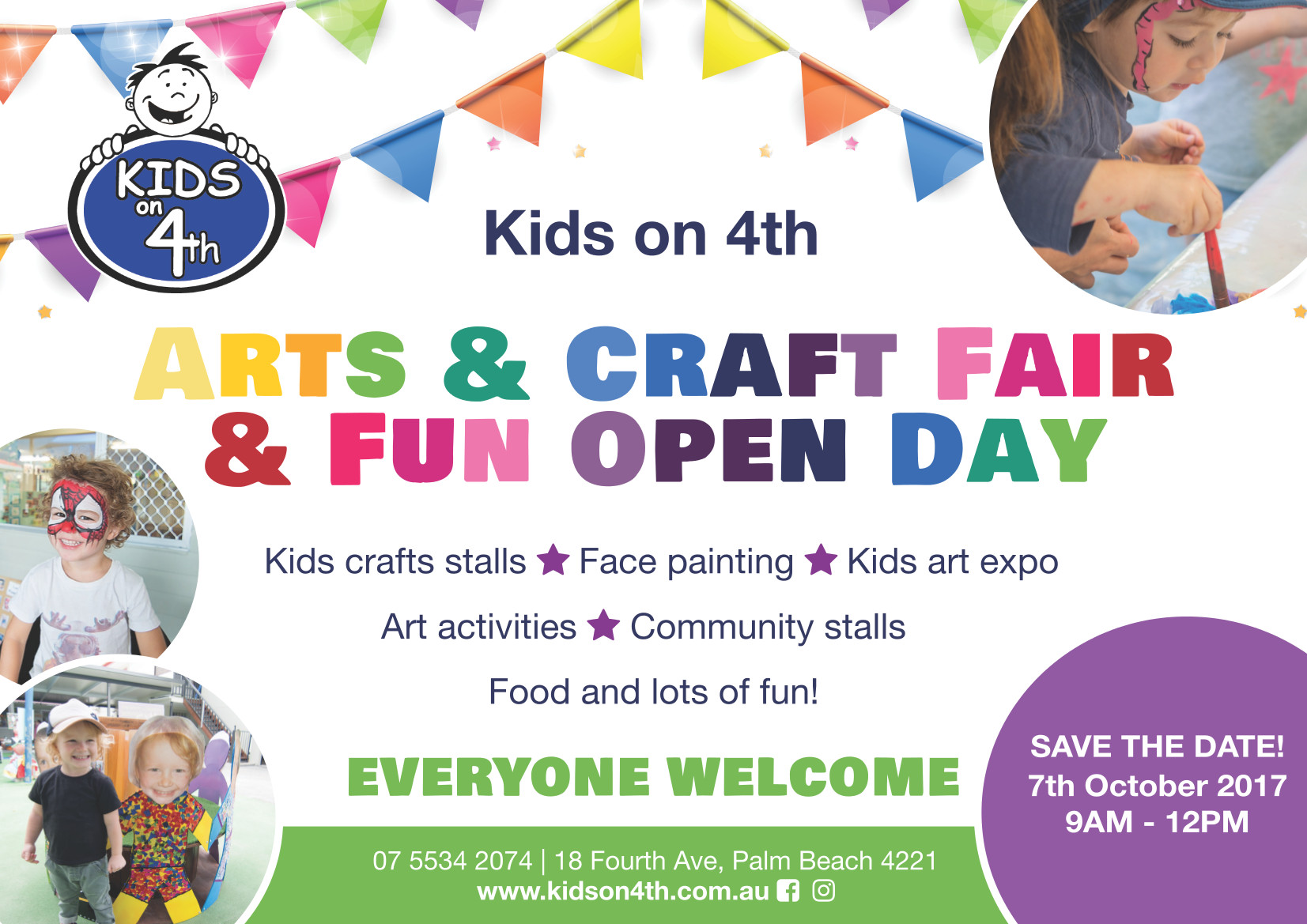 Arts And Craft Fair Fun Open Day Kids On 4th